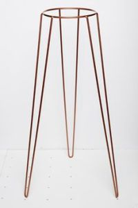 Tall Retro Metal Plant Stand | planters | Pinterest ...