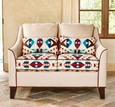Buy Leather Looking Couch And Reupholster Cushions To Fabric