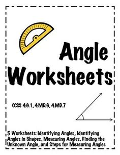 Angle Measures and Algebra Task Cards- Complementary and