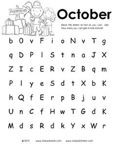 1000+ images about Letter Naming Fluency on Pinterest