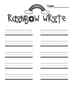 Printable lined journal paper. May make Henry journal from