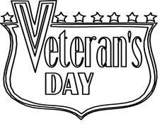 Printable Veterans Day border. Use the border in Microsoft