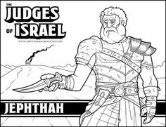 Jephthah Coloring Pages Coloring Pages