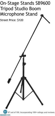 Ultimate Support MC-125 Studio Telescoping Boom Microphone