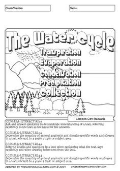 1000+ images about Water Cycle Lesson Plans on Pinterest
