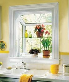 Upgrade The Kitchen Sink Window With A Garden Greehouse Window
