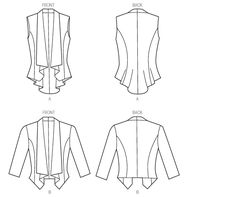 1000+ images about Outerwear, jackets and vests patterns