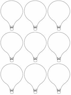 Here's a Free Printable Hot Air Balloon Template for Your