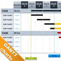 1000 images about gantt chart on Pinterest | Resource