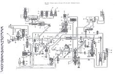 Woodward Governor Company fuel control schematic drawing