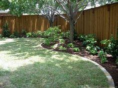 Landscaping Along Fences Fence Steps Along The Grade Adding