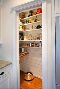 kitchen renovation on Pinterest   Corner Pantry, Pantries ...