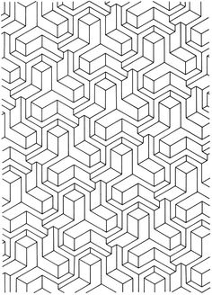 1 inch diamond pattern. Use the printable outline for