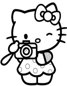 i love nerds hello kitty coloring pages