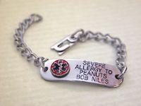 ... Allergy help on Pinterest | Allergies, Food allergies and Bracelets