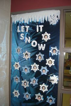Red Ribbon week & other holiday door decor on Pinterest