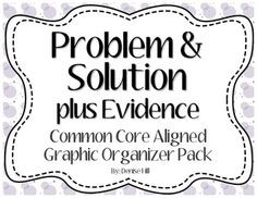 Main Idea and Details + Evidence Graphic Organizers