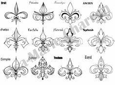 1000 idées sur le thème Tatouage Fleur De Lys sur