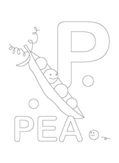 number coloring pages: these are cute, and we used them as