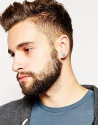 How to choose gold appropriate earrings for men | Diamond ...