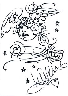 1000+ images about Celebrity Doodles for National Doodle