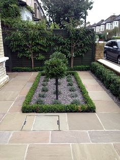 Mosaic Path Knot Garden Slate Paving London Garden Ideas