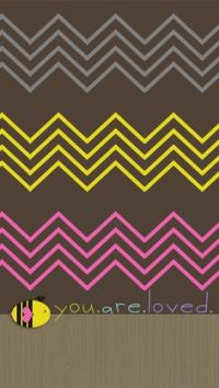 Chevron, Wall designs for bedroom and We heart it on Pinterest