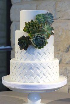 Patterned Wedding Ca