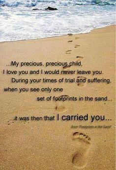 Khalil Gibran Quote Desktop Wallpaper Footprints In The Sand On Pinterest Footprint Poem And