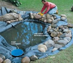 Small Water Features And Ponds Small Water Feature Built On