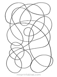 Art worksheets, Contact paper and Abstract art on Pinterest
