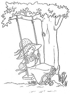 A Crowe's Gathering: Free Kids Coloring Page Anna of Green