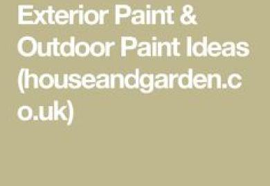 Exterior Paint Outdoor Paint Ideas Houseandgarden