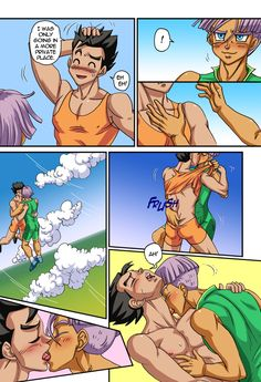 dbz yaoi incest