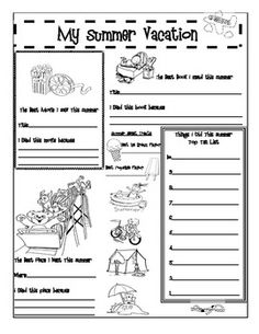 Activities, 5th grades and Back to school on Pinterest