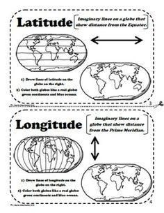 Here's a set of foldables for reviewing features of maps