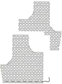 GRAFICOS DE CROCHET O GANCHILLO: PUNTOS Y SUS GRAFICOS O