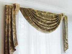 Swag Curtain Sconces Decoration To Make Window Treatments