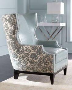 traditional leather wingback chair hanging for living room 1000+ images about mom on pinterest | chiang mai, schumacher and sarah richardson