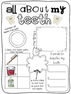 PictureSET: Sub Category Dental Vocabulary. PDF and
