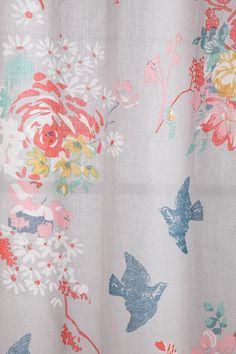 Peach Curtains on Pinterest  Peach Living Rooms Coral