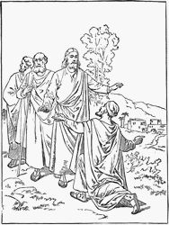 Jesus' apostles coloring pages (many other links on this