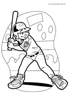 Coloring pages, Coloring pages for kids and Volleyball on