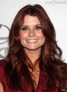 JoAnna Garcia Swisher Hair Lust Pinterest Highlights Auburn