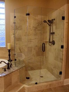 1000 images about Master bathroom on Pinterest  Travertine shower Travertine tile and Travertine