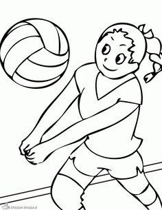1000+ images about Sport Kleurplaten on Pinterest