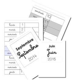 Pages de garde cahiers CP/CE1 (versions modifiables