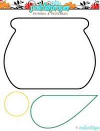 Pot Of Gold Craft Template Pictures Of A Pot Of Gold