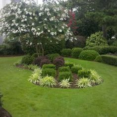 Design An Island Bed Gardens Flower And Front Yards