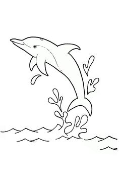 Dolphin coloring, dolphin images, free printable dolphin